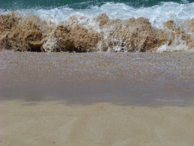 surf on sand
